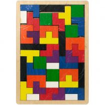 Деревянная головоломка-пазл Tetriswood
