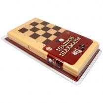 Шашки-Шахматы в пластиковой коробке