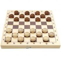 Шашки деревянные (145x290x45)