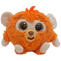 Дразнюка-Zoo плюшевая оранжевая обезьянка