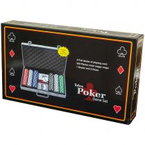 Набор для игры в покер в алюминиевом кейсе