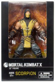 Mortal Kombat X: Scorpion (фигурка 15 см)