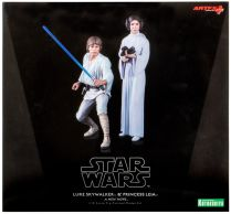 Star Wars: Luke Skywalker and Princess Leia (фигурки 16 см)