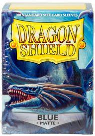 Протекторы Dragon Shield (100 шт., 63х88 мм): синие матовые