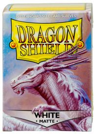 Протекторы Dragon Shield (100 шт., 63х88 мм): белые матовые