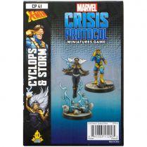 Marvel Crisis Protocol: Cyclops and Storm