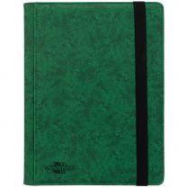 Альбом Blackfire Premium (с листами по 3x3 кармашка): Зелёный