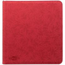 Альбом Blackfire Premium Zip-Album (с листами по 3х4 кармашка): Красный