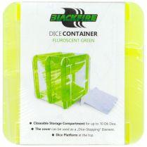 Контейнер для кубиков Blackfire Fluorescent Green