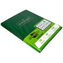 Альбом Blackfire (с листами по 3x3 кармашка): Зелёный