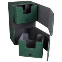 Коробочка Blackfire Convertible Premium Deck Box Dual 200+ Standard Size Cards – Зеленая