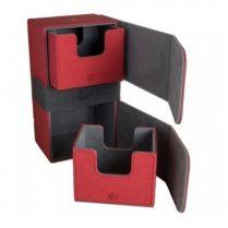 Коробочка Blackfire Convertible Premium Deck Box Dual 200+ Standard Size Cards – Красная