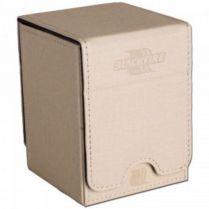 Коробочка Blackfire Convertible Premium Deck Box Single Vertical 100+ Standard Size Cards – Белая