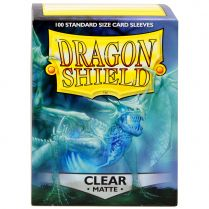 Протекторы Dragon Shield (100шт., 63х88 мм): прозрачные матовые