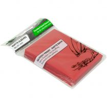 Протекторы Blackfire Matte Sleeves красные (50 шт., 66x91 мм)