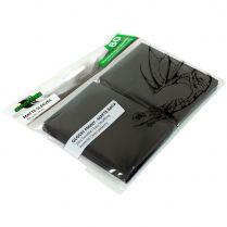 Протекторы Blackfire Matte Sleeves чёрные (80 шт., 66x91 мм)