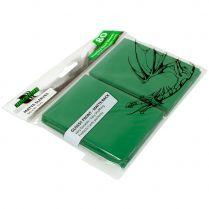 Протекторы Blackfire Matte Sleeves зелёные (80 шт., 66x91 мм)