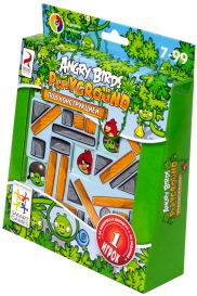 Angry Birds Playground под конструкцией