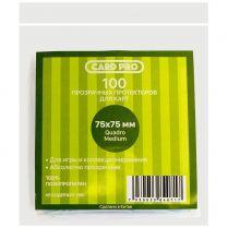 Протекторы Card-Pro прозрачные (100 шт., 75x75 мм)