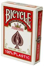 Bicycle Prestige, красная рубашка, пластик