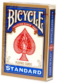Bicycle Standart, синяя рубашка
