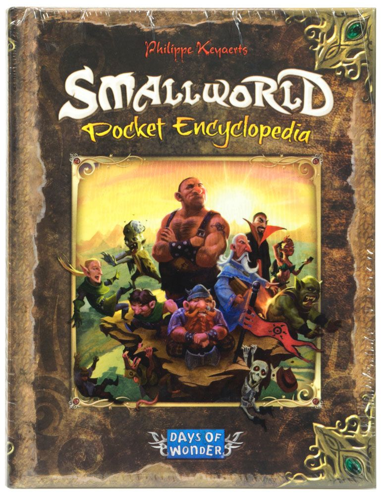 Купить SmallWorld: Pocket Encyclopedia, Настольная игра Days of Wonder