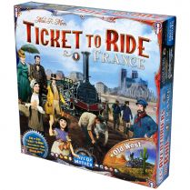 Ticket to Ride: France/Old West Map Collection 6