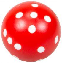Кубик D6 круглый,(21,5 мм, красный