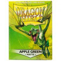Протекторы Dragon Shield (100 шт., 63х88 мм): ярко-зелёные матовые