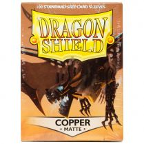 Протекторы Dragon Shield (100 шт., 63х88 мм): медные матовые