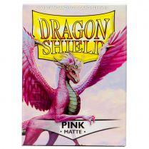 Протекторы Dragon Shield (100 шт., 63х88 мм): розовые матовые