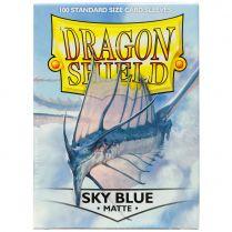 Протекторы Dragon Shield (100 шт., 63х88 мм): небесно-голубые матовые