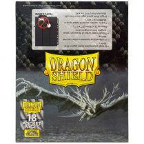 Пачка листов Dragon Shield (чёрные, матовые, двухсторонние с кармашками 3x3 и загрузкой сбоку, 50 шт.)