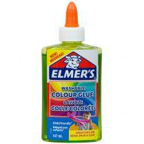 Клей Elmers Clear для слаймов: зелёный полупрозрачный