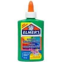 Клей Elmers Colour для слаймов: зеленый матовый