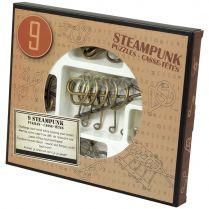 Набор из 9 головоломок Steampunk Puzzles (коричневый)