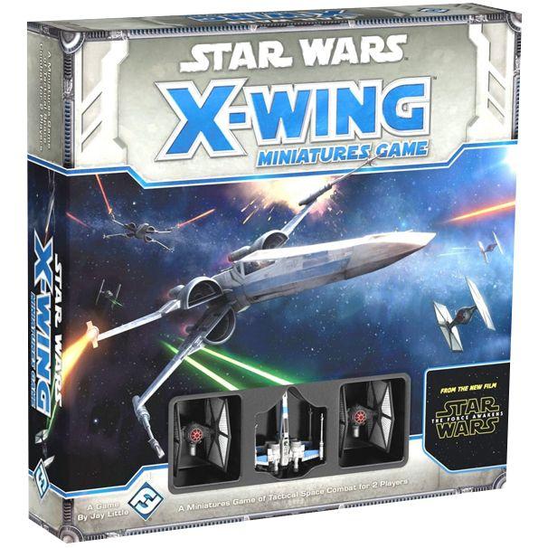 Star Wars: X-Wing – The Force Awakens Core Set на английском языке, Настольная игра Fantasy Flight Games  - купить со скидкой
