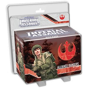Купить Star Wars: Imperial Assault - Alliance Rangers Ally pack, Настольная игра Fantasy Flight Games