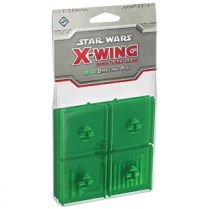 Star Wars: X-Wing – Green Bases and Pegs