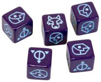 Ashes: Purple Illusion Dice (5x)