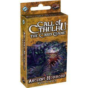 Купить Call of Cthulhu LCG: Ancient Horrors, Настольная игра Fantasy Flight Games