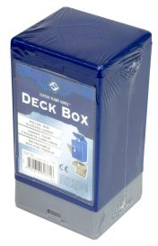 Коробочка на 100 карт в протекторах (25x35 мм): синяя