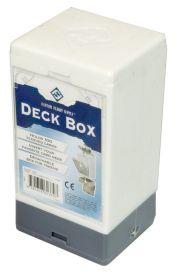 Коробочка на 100 карт в протекторах (25x35 мм): белая