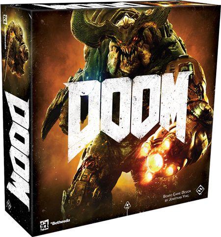 Купить Doom: The Board Game Second Edition, Настольная игра Fantasy Flight Games