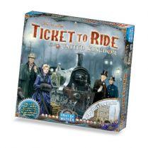 Ticket to Ride: United Kingdom (брак: помяты правила)