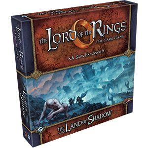 Купить LOTR LCG: The Land of Shadow, Настольная игра Fantasy Flight Games