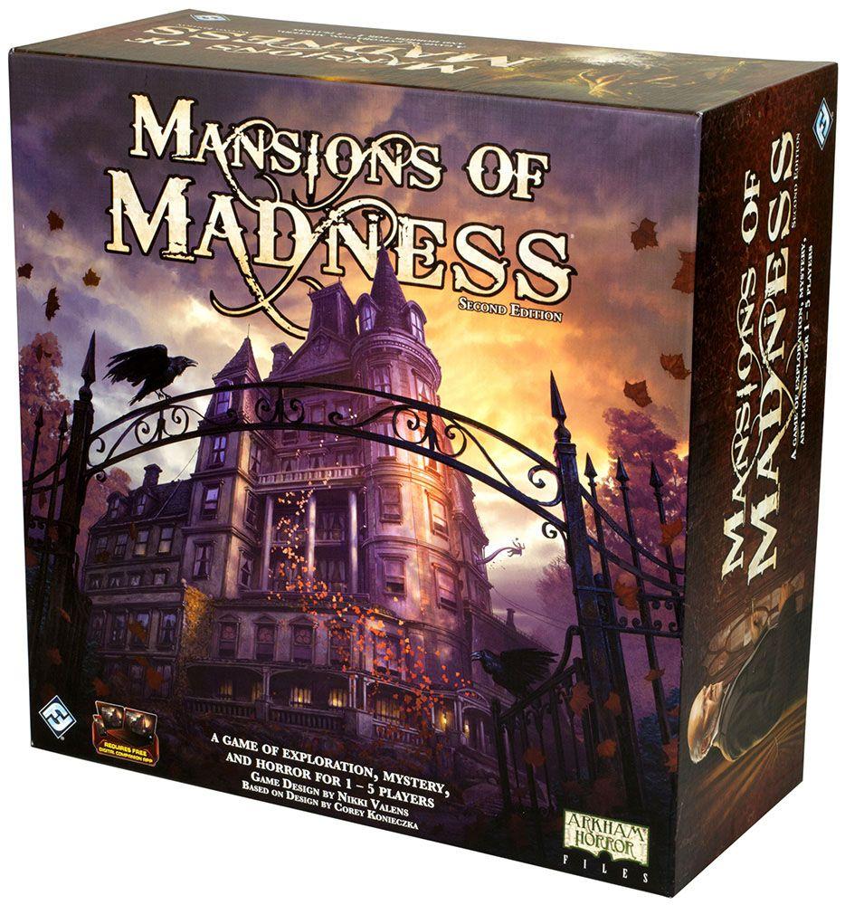Купить Mansions of Madness 2nd Edition, Настольная игра Fantasy Flight Games