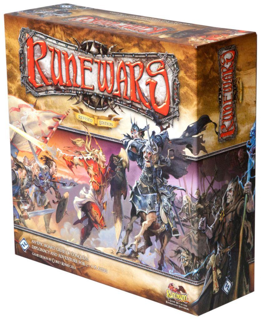 Купить Runewars (Revised Edition), Настольная игра Fantasy Flight Games