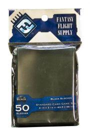 Протекторы для настольных игр (50шт., 63,5x88 мм): черные