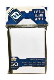 Протекторы для настольных игр (50шт., 63,5x88 мм): белые
